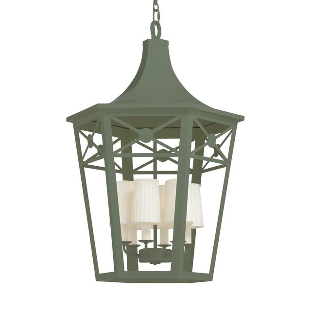 Created From A Love Of Lattice And Lanterns, The Church Court Lantern Derives It's Form From Lanterns That Graced Churches...