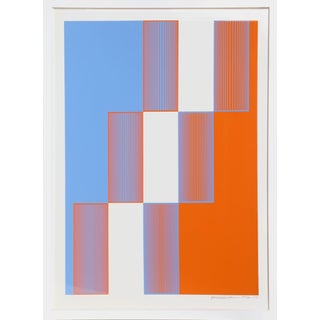 Richard Anuszkiewicz, Celebrate New York, Silkscreen For Sale