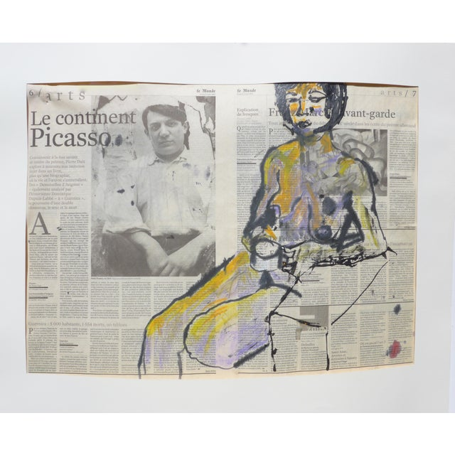 'Picasso & His Model' Drawing - Image 3 of 9