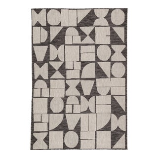 Nikki Chu by Jaipur Living Zulu Indoor/ Outdoor Geometric Area Rug - 2′ × 3′7″ For Sale