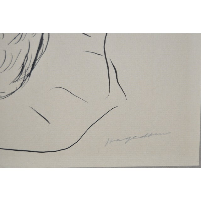 Figural Nude Pen & Ink - Image 4 of 5