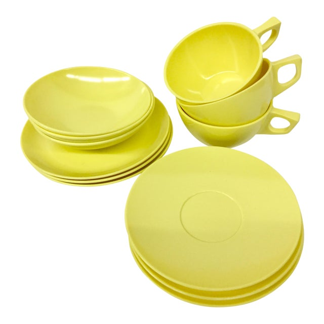 Sun Valley Mel Mac Service for 3 Tableware - 12 Pc. For Sale