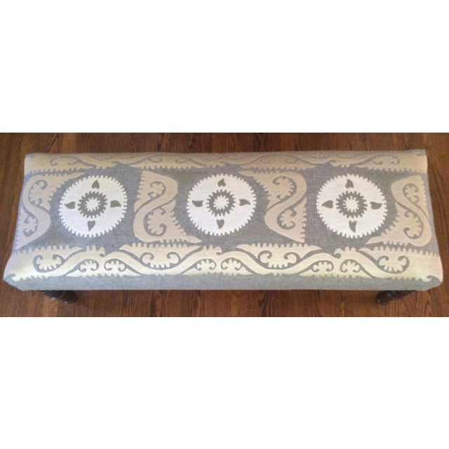 Persian Embroidered Bench - Image 4 of 5