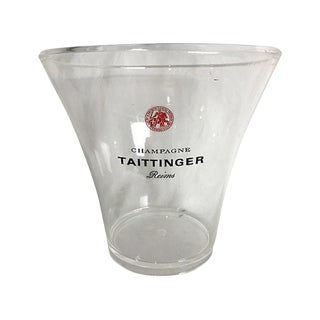 French Acrylic Champagne Bucket For Sale