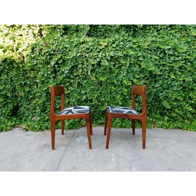 Black Moller Style Dining Head Chair For Sale - Image 8 of 11