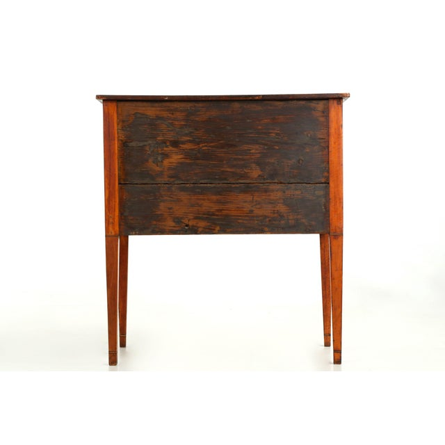 C. 1780 George III Satinwood Commode - Image 4 of 10