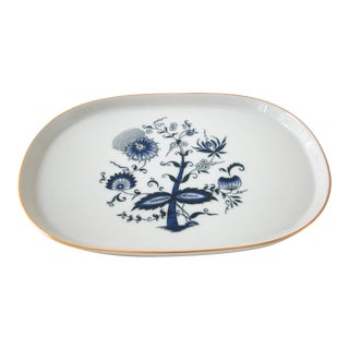 Blue and White Porcelain Tray