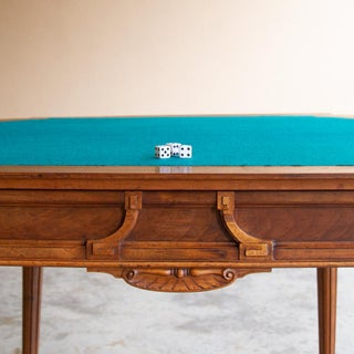 19th Century French Henri II Walnut Game Table ~ Console Preview