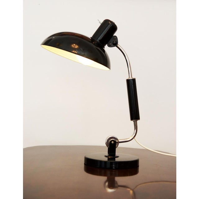 1950s Austrian Mid Century Table Lamp by Christian Dell for Koranda, 1950s For Sale - Image 5 of 5