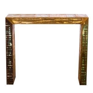 Handmade Reclaimed Wood Bar Table For Sale