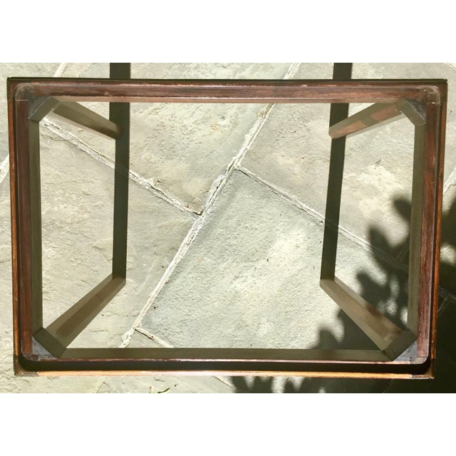 Chinoiserie Chippendale Rosewood Tray Table For Sale In New York - Image 6 of 12