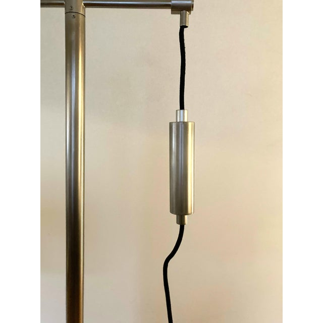 Arteriors Home Jillian Vintage Style Silver Floor Lamp For Sale In Seattle - Image 6 of 12