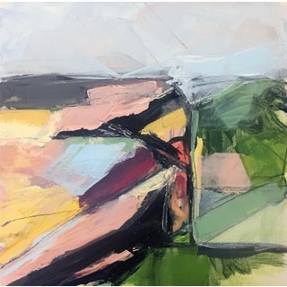 Field Acrylic #5 Painting by Heidi Lanino For Sale