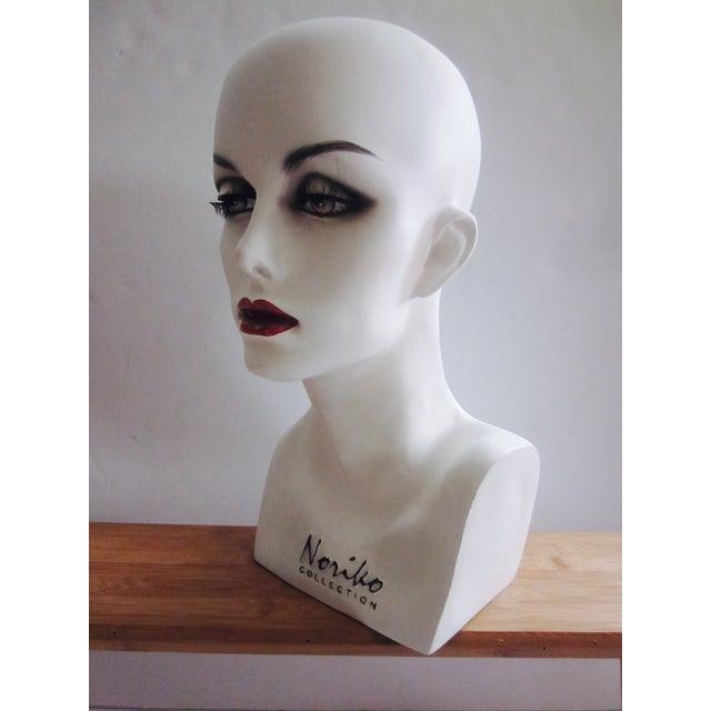Vintage Modernist Mannequin Display Heads - Pair - Image 8 of 8