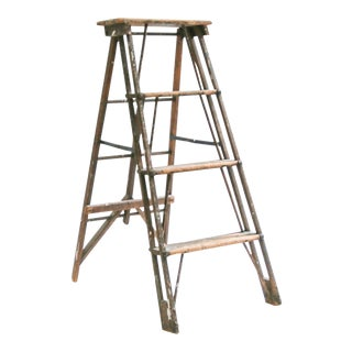 20th Century Architectural Step Ladder For Sale
