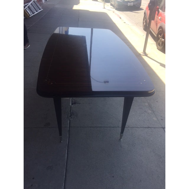 1940's French Deco Writing Table For Sale - Image 10 of 12