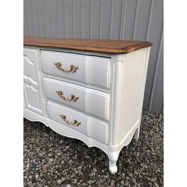 French 1970s Hibriten Country French Dresser For Sale - Image 3 of 10
