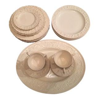 Wedgwood Creamware/Queen's Ware Dinnerware Set - 23 Pieces