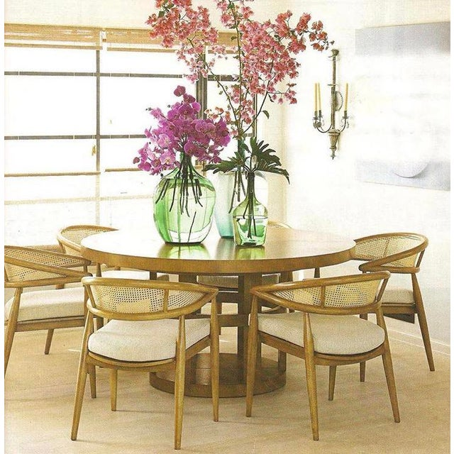 Thonet James Mont Bent Wood & Cane Armchairs - Set of 4 - Image 5 of 5