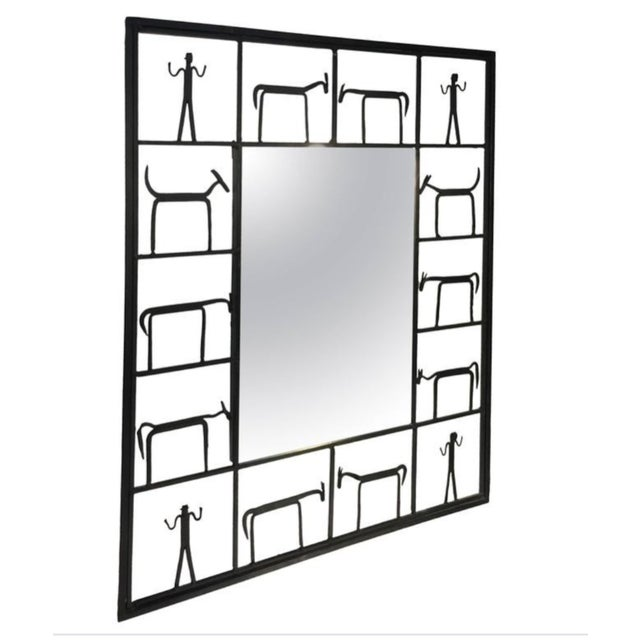 The mirror belonged to my parents. I love the mirror and grew up seeing it in our vacation house. They renovated the...