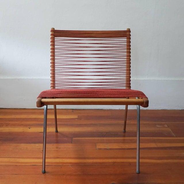 Robert J Ellenberger String Chair by Robert J Ellenberger for Calfab Good Design, 1950s For Sale - Image 4 of 8