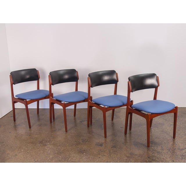 Set of 6 Erik Buck Style Teak Dining Chairs - Image 5 of 11