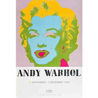 "1983 Andy Warhol ""Marilyn Monroe"" Serigraph For Sale"