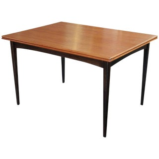 Flip-Top Teak Dining Table by DUX