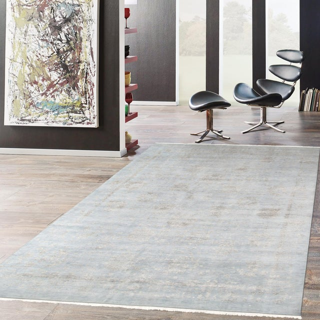 Pasargad's Transitiona Gray Wool Rug- 10' x 14' - Image 4 of 4