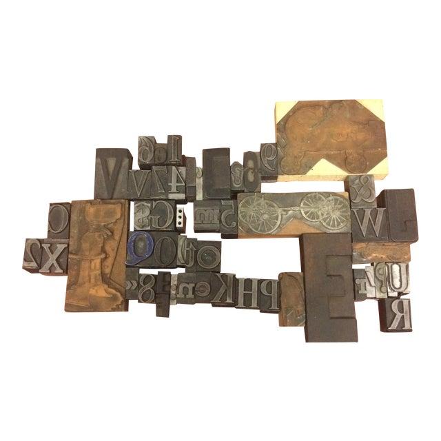 Print Letter Blocks - Set of 49 - Image 1 of 8