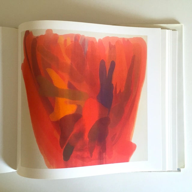 """Vintage 1st Edtn """"Morris Louis Moma"""" Collector's Abstract Expressionist Art Book, 1986 For Sale - Image 5 of 13"""
