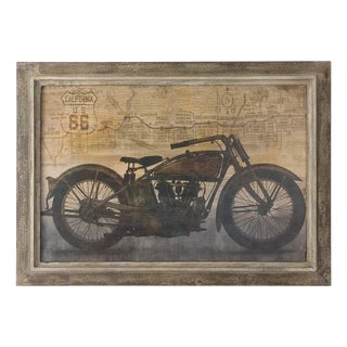 1990s 'Ready to Ride' Motorcycle Print For Sale