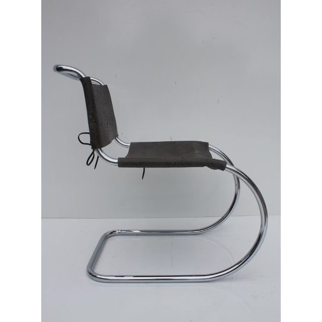 Knoll MR Side Chair By Mies Van Der Rohe - Image 7 of 9