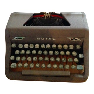 1950s Royal Quiet Typewriter For Sale