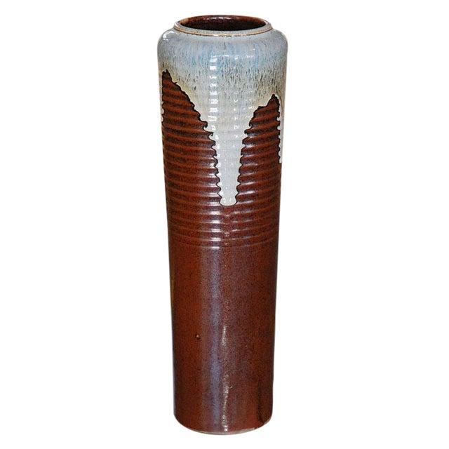 Excellent Japanese Ceramic Vase Decaso