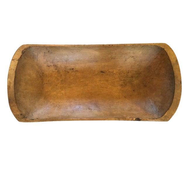 Antique Dough Bowl - Image 1 of 2