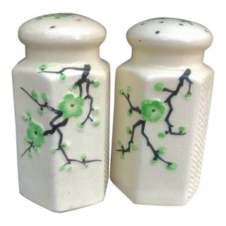 Japanese Large Salt & Pepper Shakers For Sale