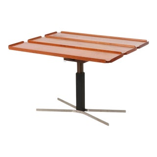 Mid-Century Danish Modern Teak Drop Leaf Table For Sale