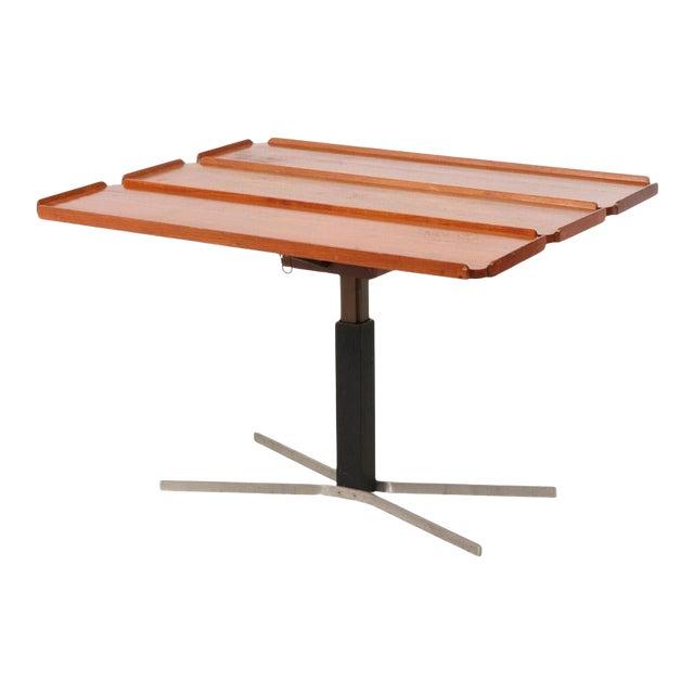 Mid-Century Danish Modern Teak Drop Leaf Table For Sale