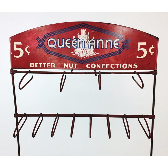 Vintage Queen Anne Better Nut Confections Display Rack - Image 3 of 8
