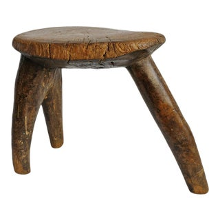 Burkina Faso Lobi Stool For Sale
