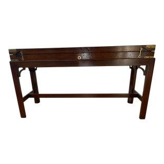 19th Century English Mahogany Display Case For Sale
