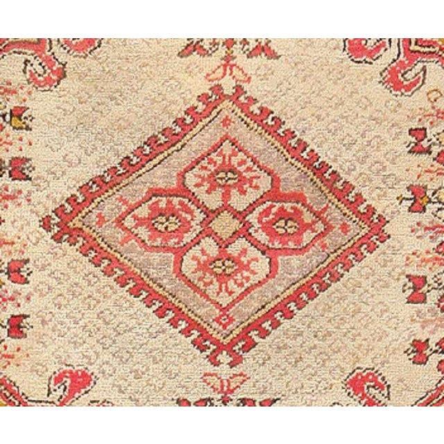 Antique Turkish Ghiordes Rug For Sale - Image 4 of 7