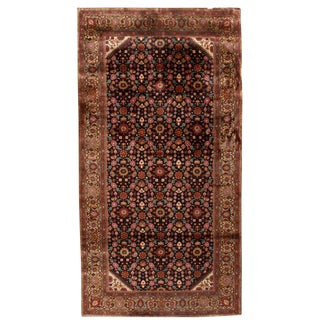 Antique 19th Century Indian Rug For Sale