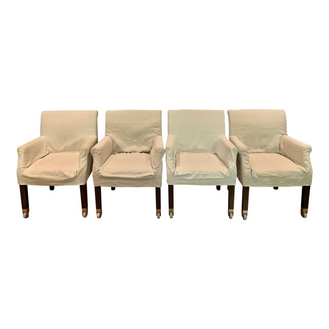 Flexform Pausa Chairs- Set of 4 For Sale