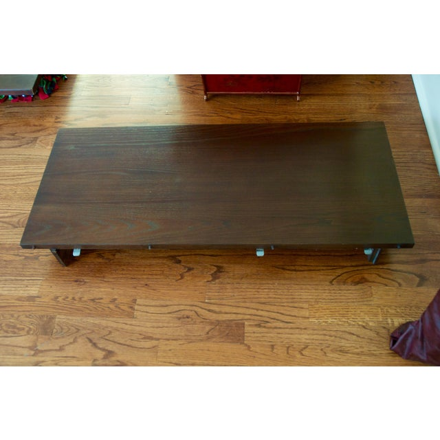 Ethan Allen Horizon Collection Dining Table - Image 8 of 8