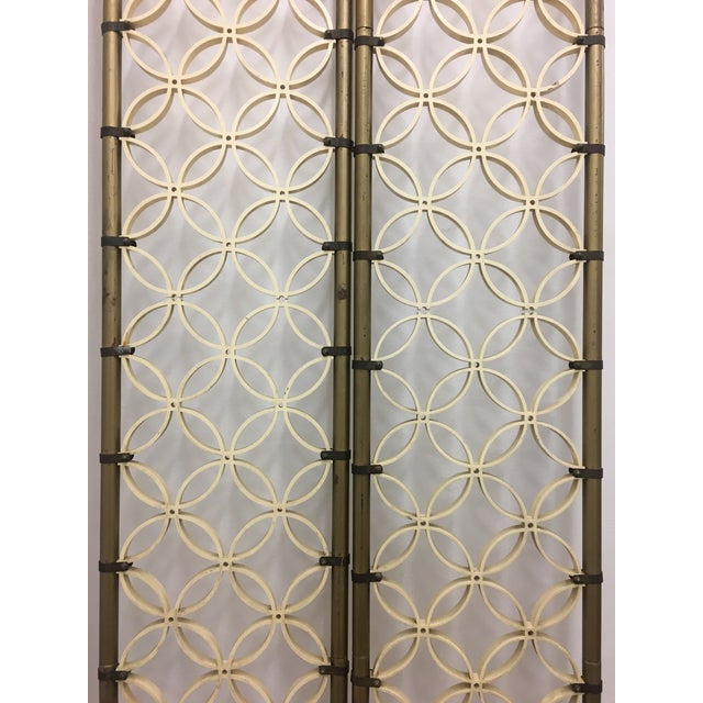 These unique, unusual, elegantly-proportioned room dividers have spring loaded legs that make them adjustable to fit...