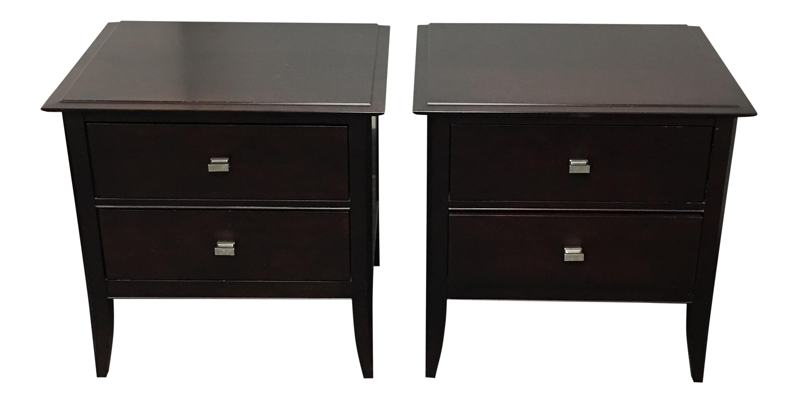 Baronet Of Canada Nightstands A Pair