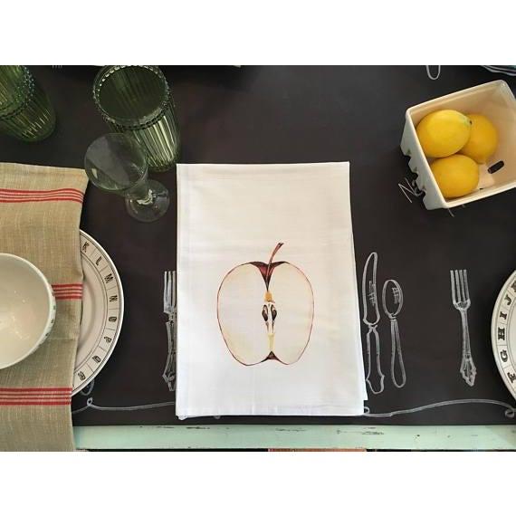 Apple Motif Tea Towel - Image 4 of 5