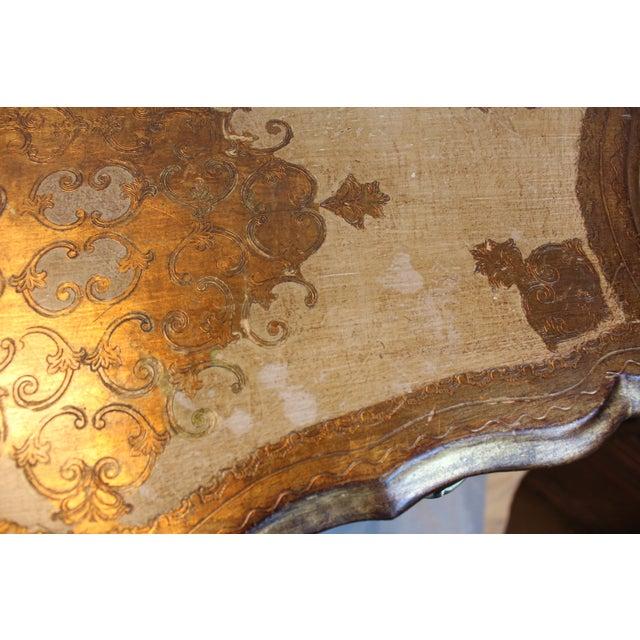 Vintage Italian Gilt Wood Dresser - Image 7 of 11